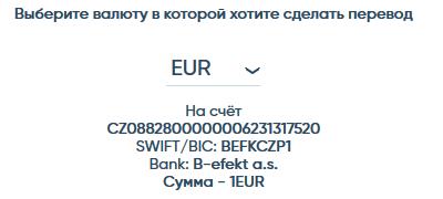 Верификация в системе BitEffect